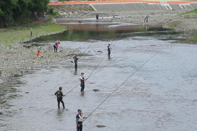 6月17日(木) 秋川の状況