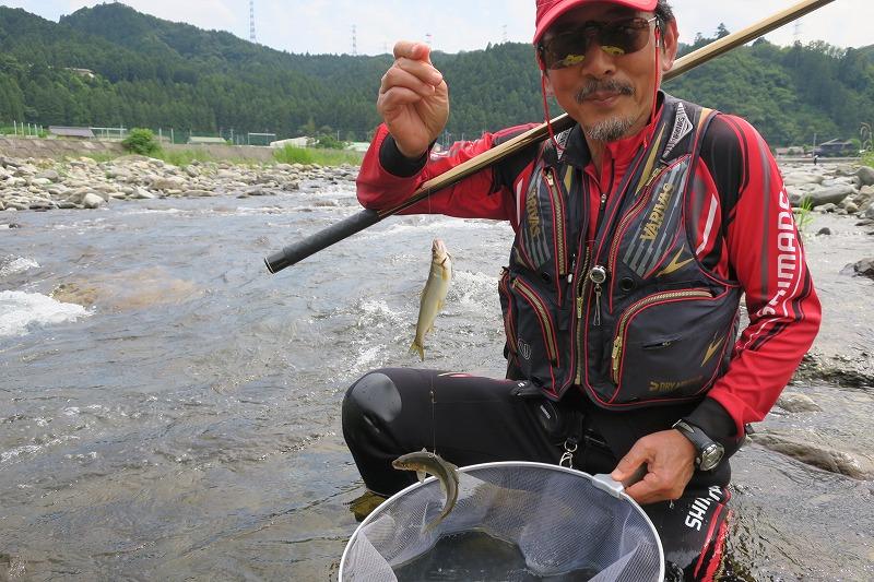 6月21日(月) 秋川の状況