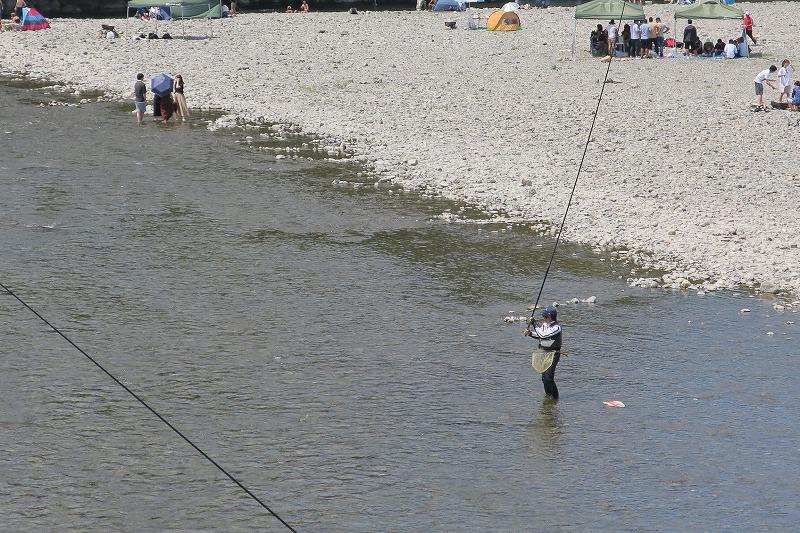 8月2日(月) 秋川の状況