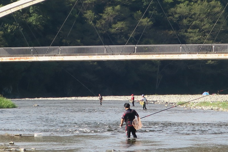 9月22日(水) 秋川の状況