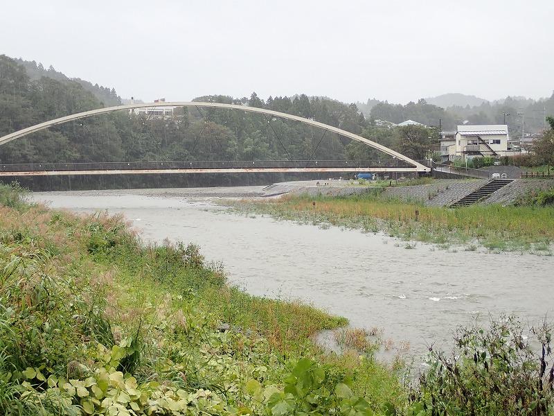 10月1日 秋川の状況 今日からヤマメは禁漁です
