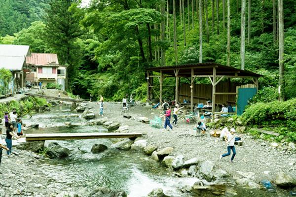 神戸国際ます釣場